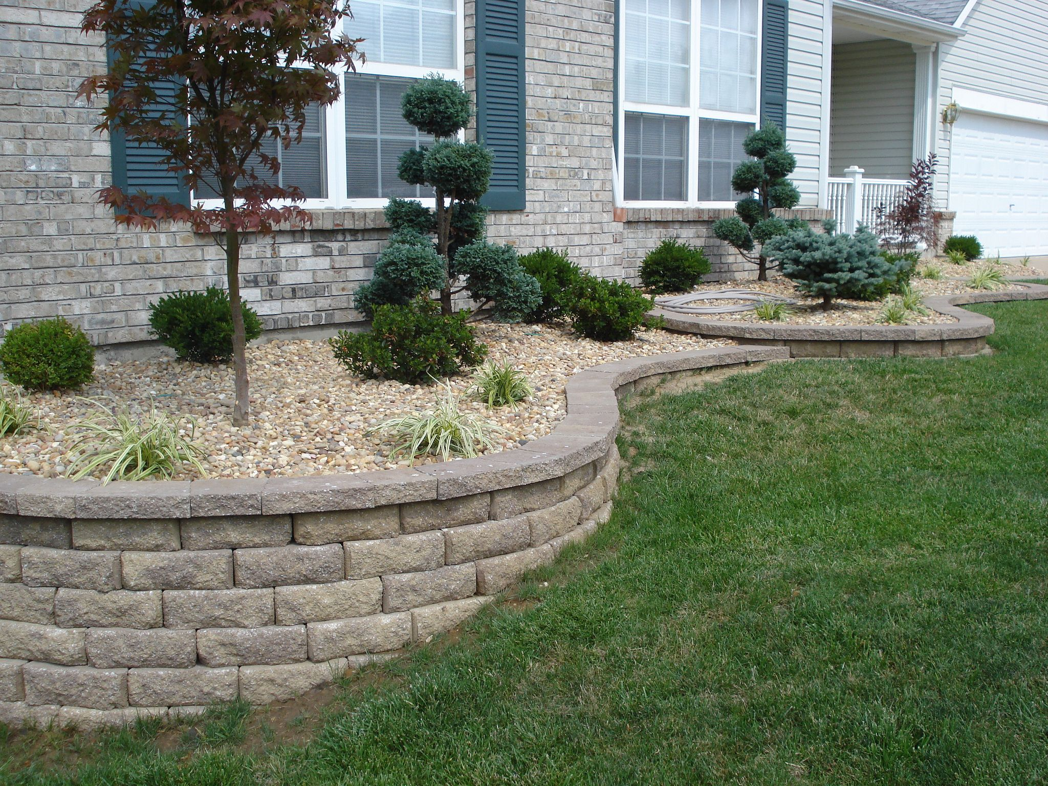 Front Yard Retaining Wall Landscaping Ideas