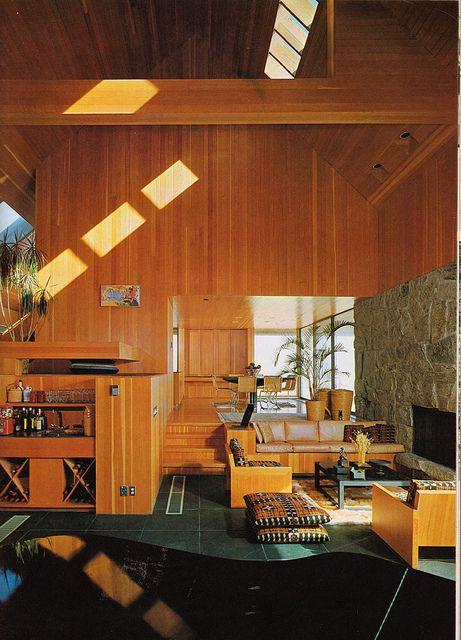 70s Style House Interior