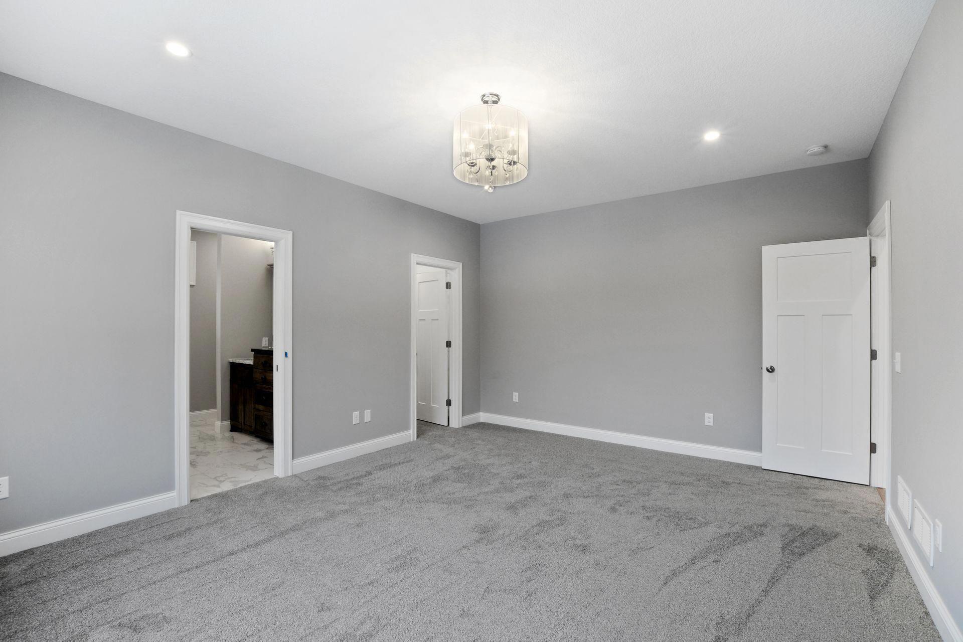 Grey Carpet Bedroom