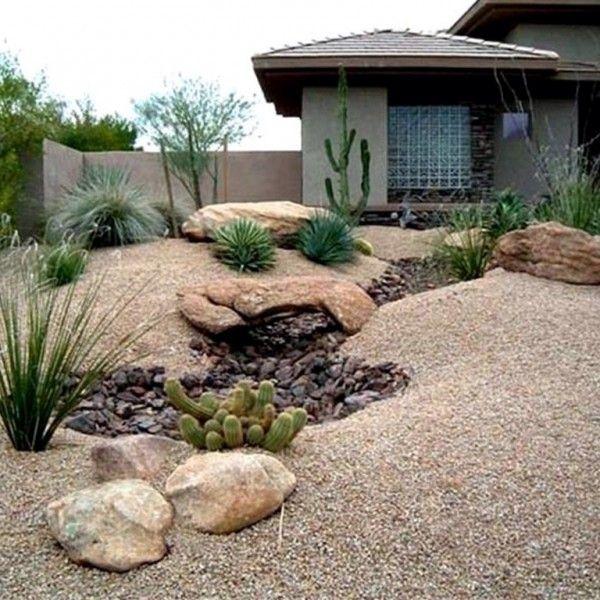 Front Yard Desert Landscape Ideas