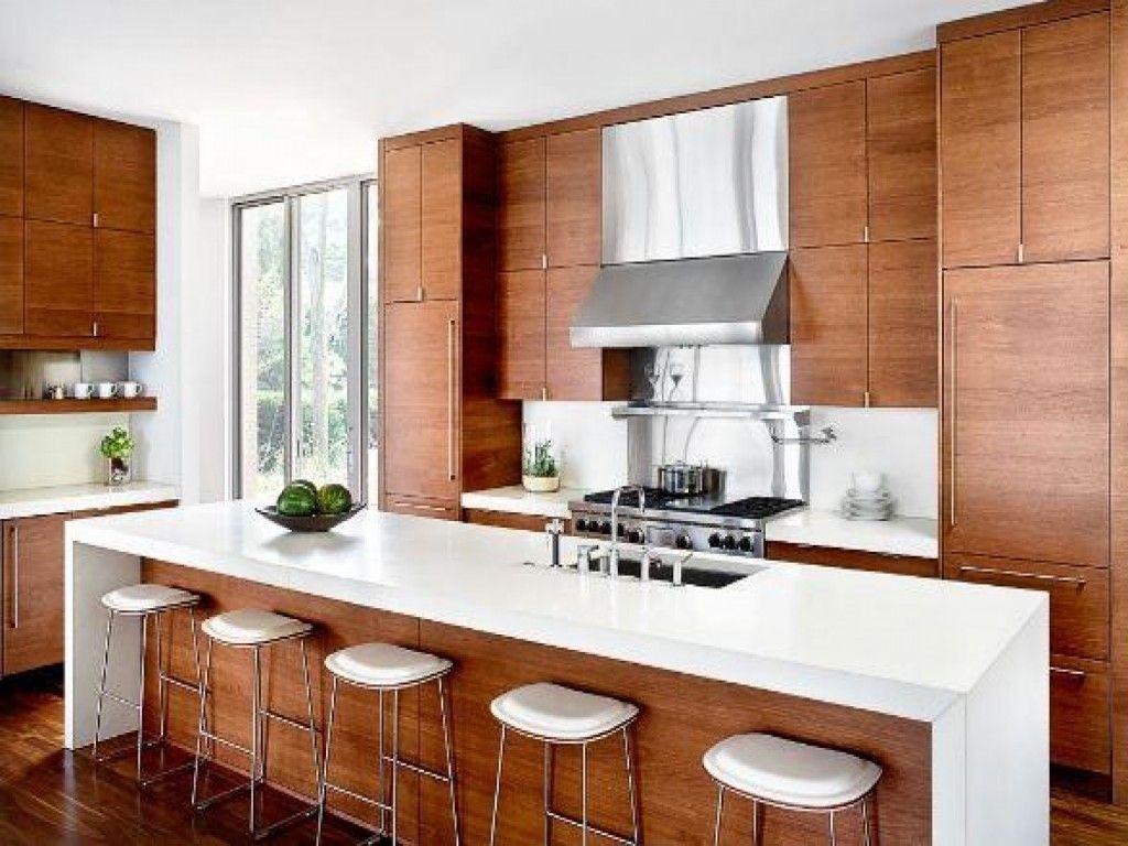 Modern Wood Kitchen Cabinets
