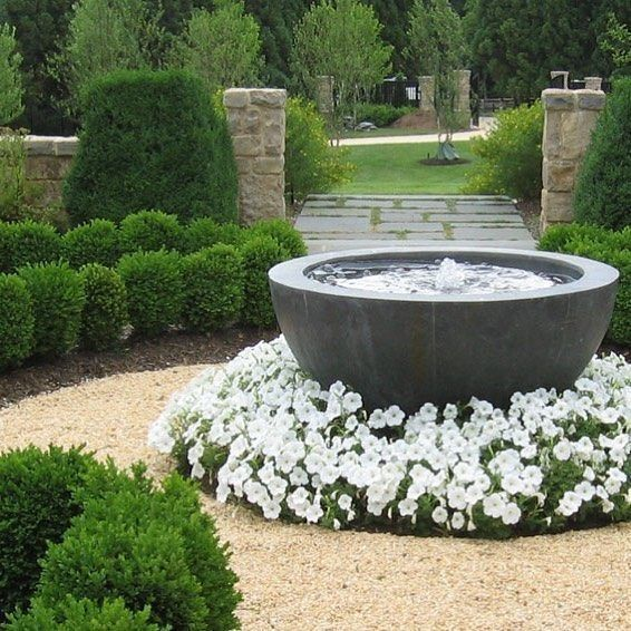Front Yard Water Feature