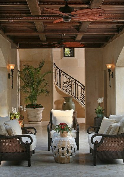 Colonial Style House Interior