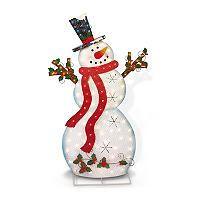 Metal Snowman Outdoor Decorations