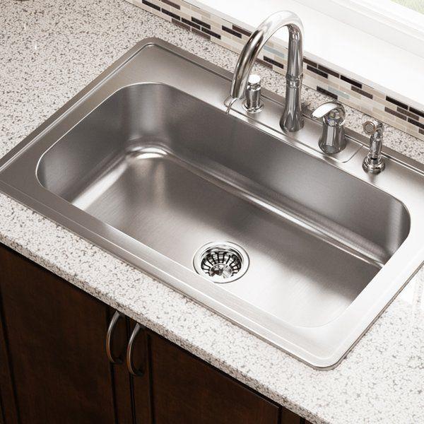 Drop In Stainless Steel Kitchen Sinks