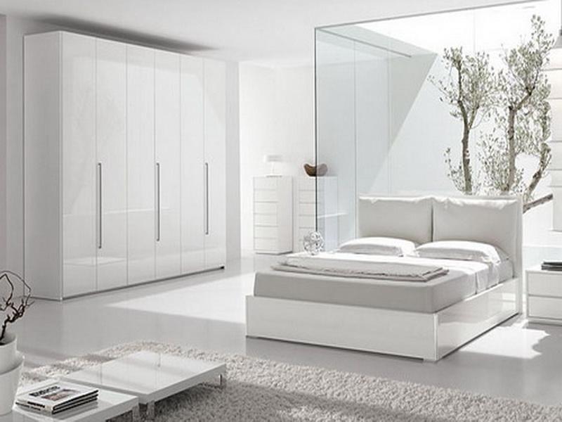 Modern White Bedroom