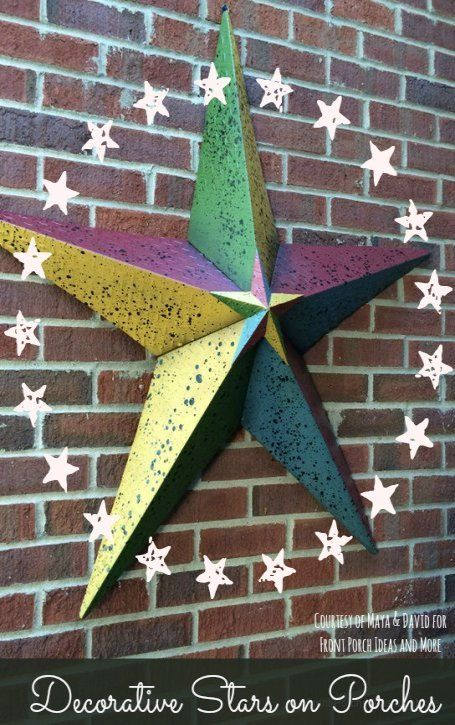 Metal Star Outdoor Decor Meaning