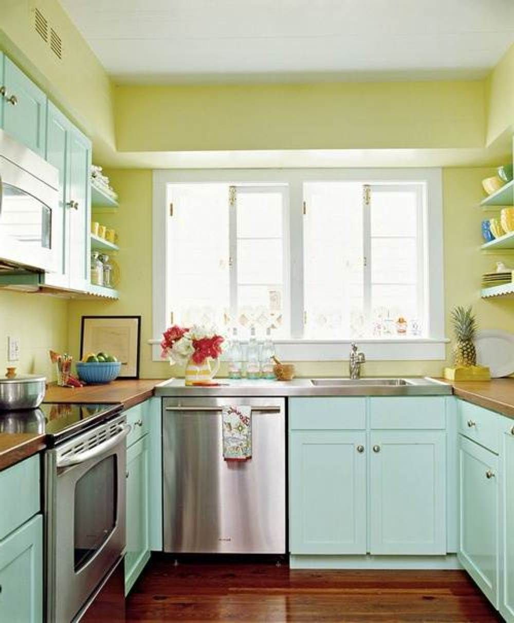 Small Kitchen Wall Colors