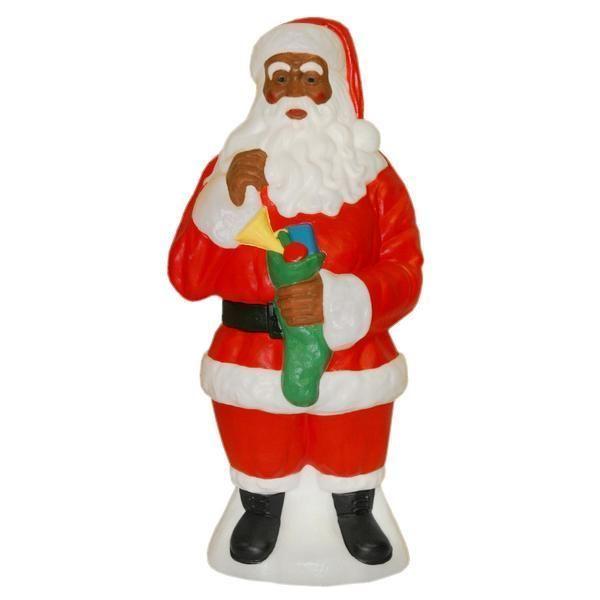 Black Santa Claus Outdoor Decorations
