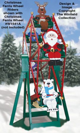 Christmas Ferris Wheel Outdoor Decoration