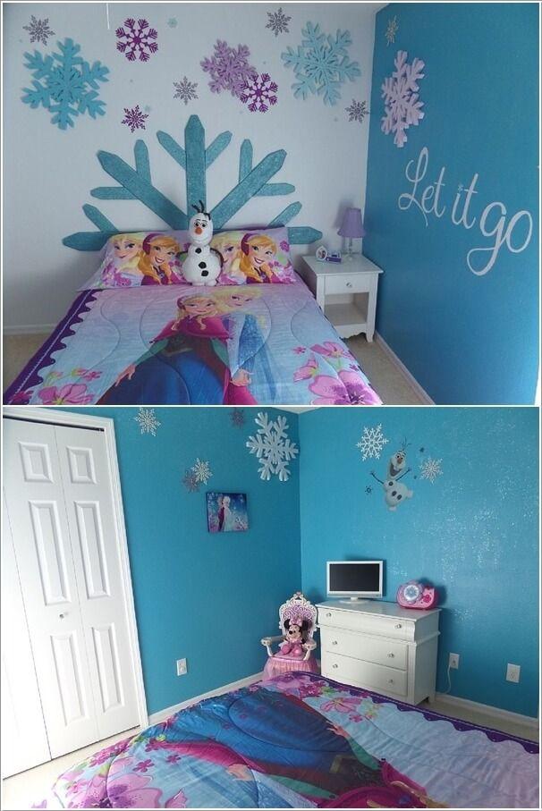 Frozen Bedroom Decor
