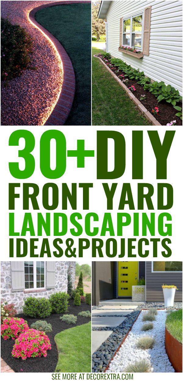Easy Front Yard Landscape