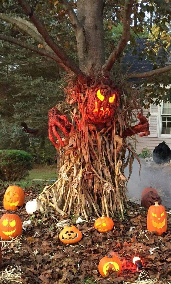 Halloween Pumpkin Outdoor Decorations