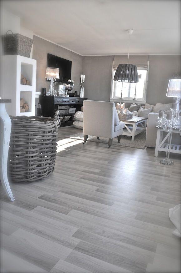 Grey Floor Living Room