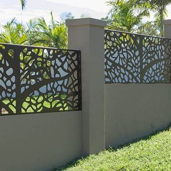 Outdoor Decorative Fence Panels