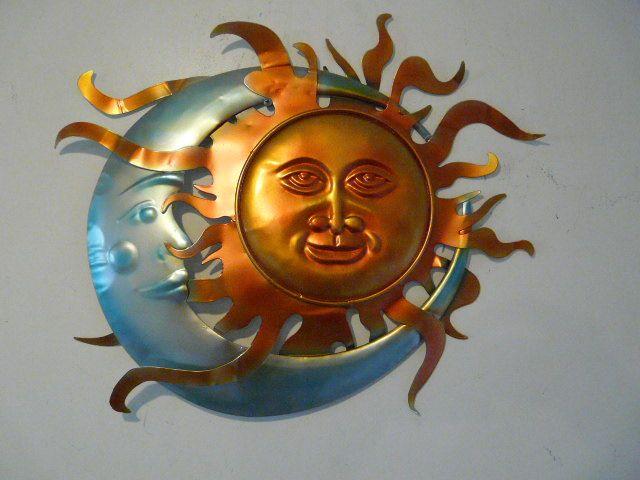 Sun And Moon Outdoor Decor