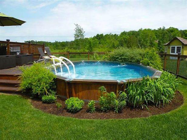 Backyard Above Ground Pool Ideas