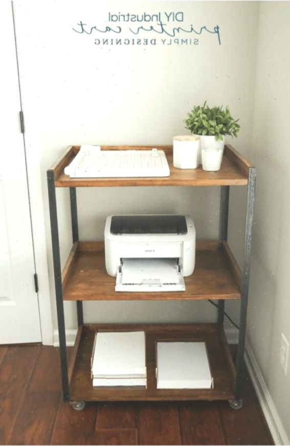 Home Office Printer Stand