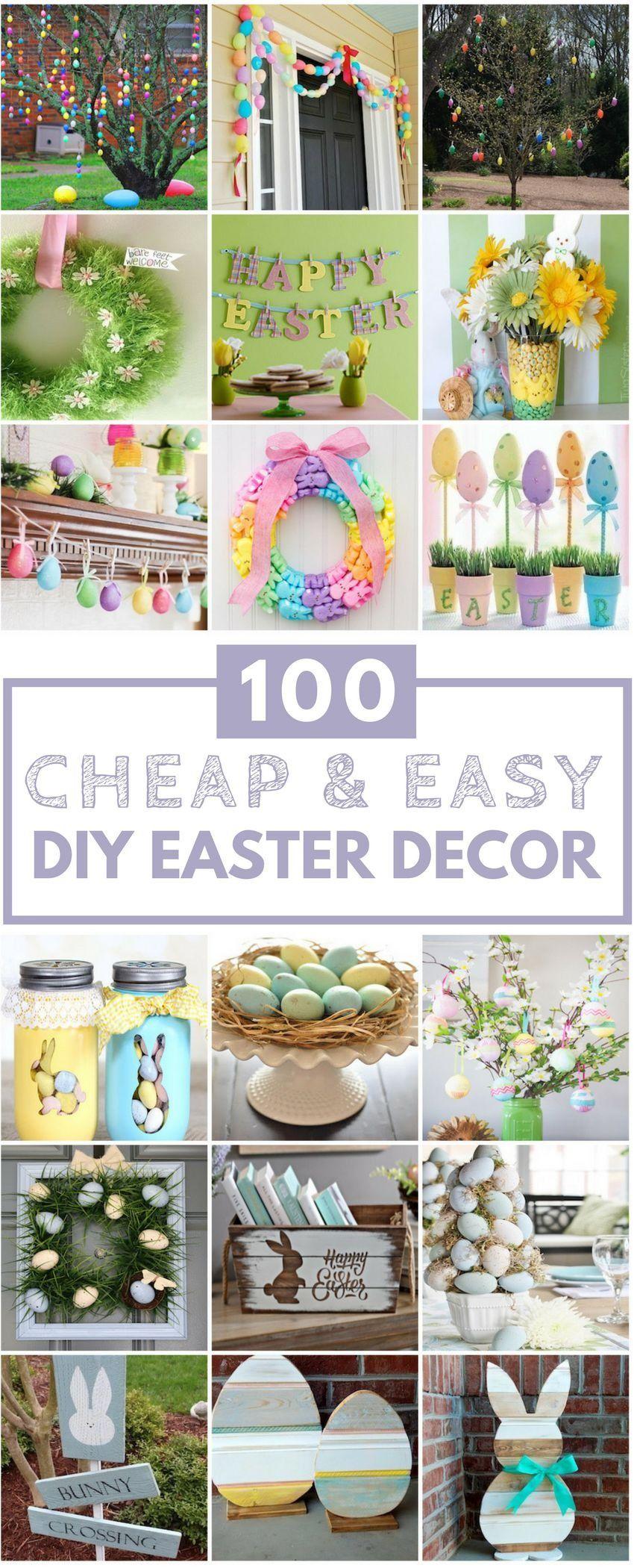 DIY Easter Decoration Ideas