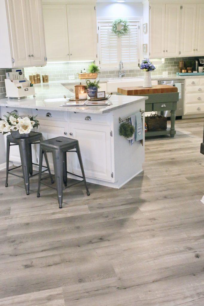 Vinyl Plank Flooring Kitchen