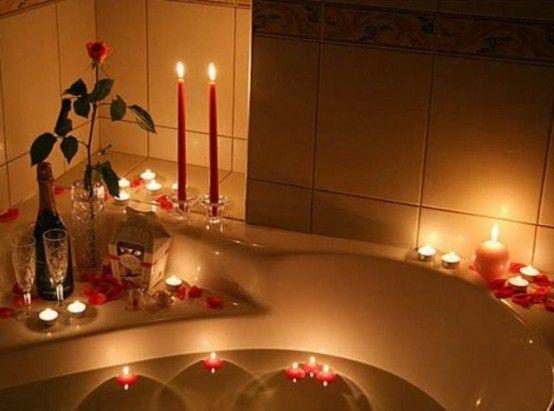 Valentine's Day Bathroom Decor