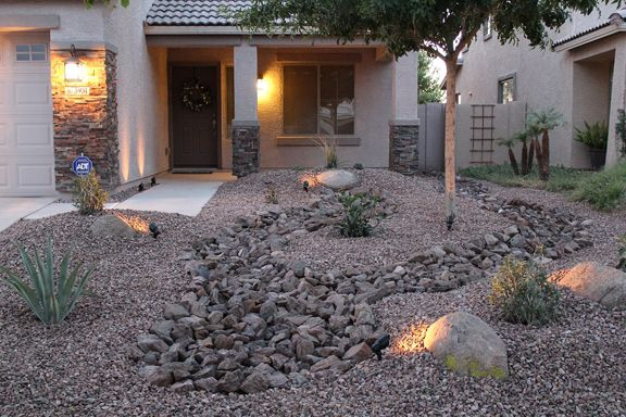 Front Yard Desert Landscaping Ideas On A Budget