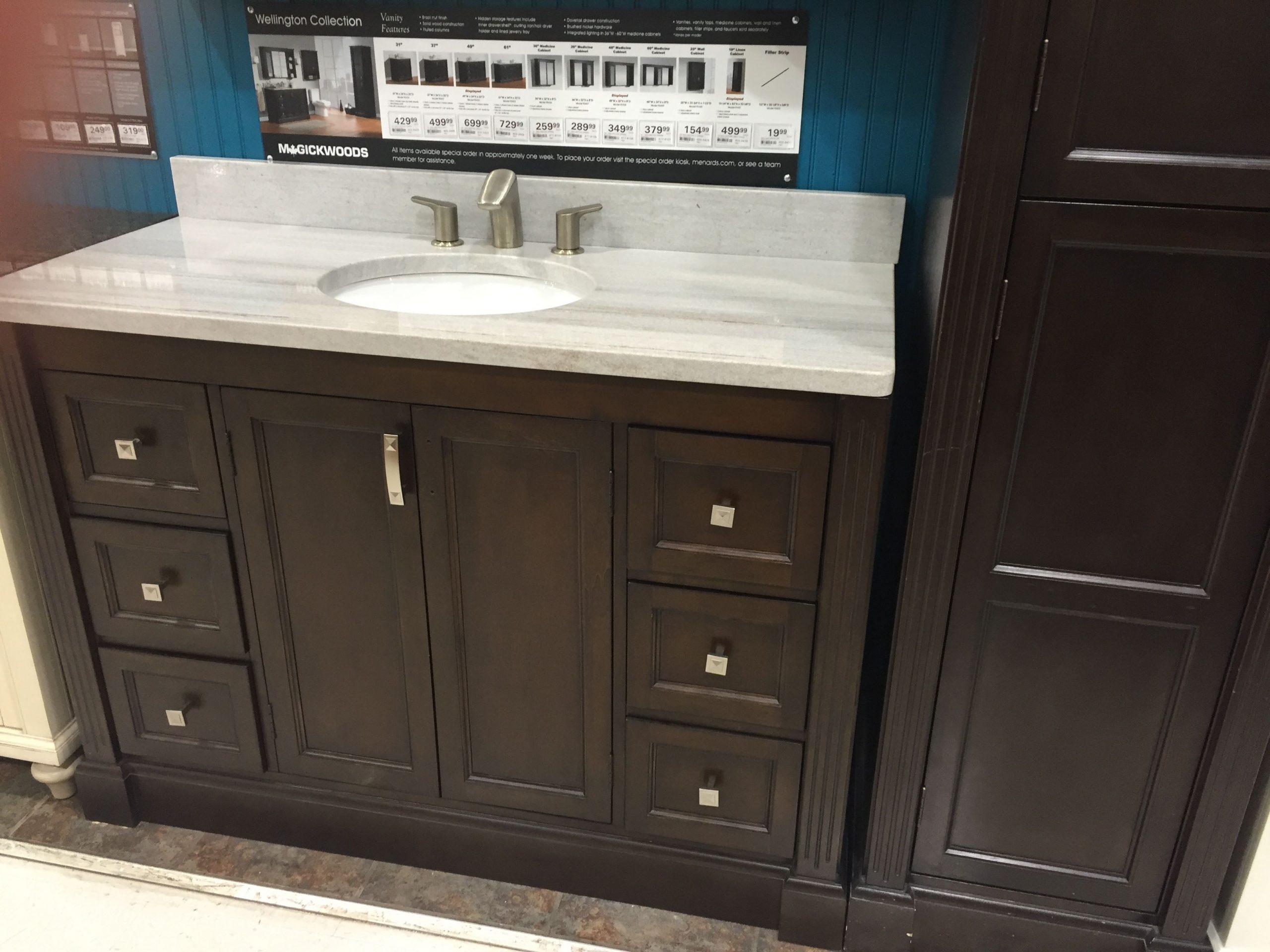 Menards Bathroom Cabinets