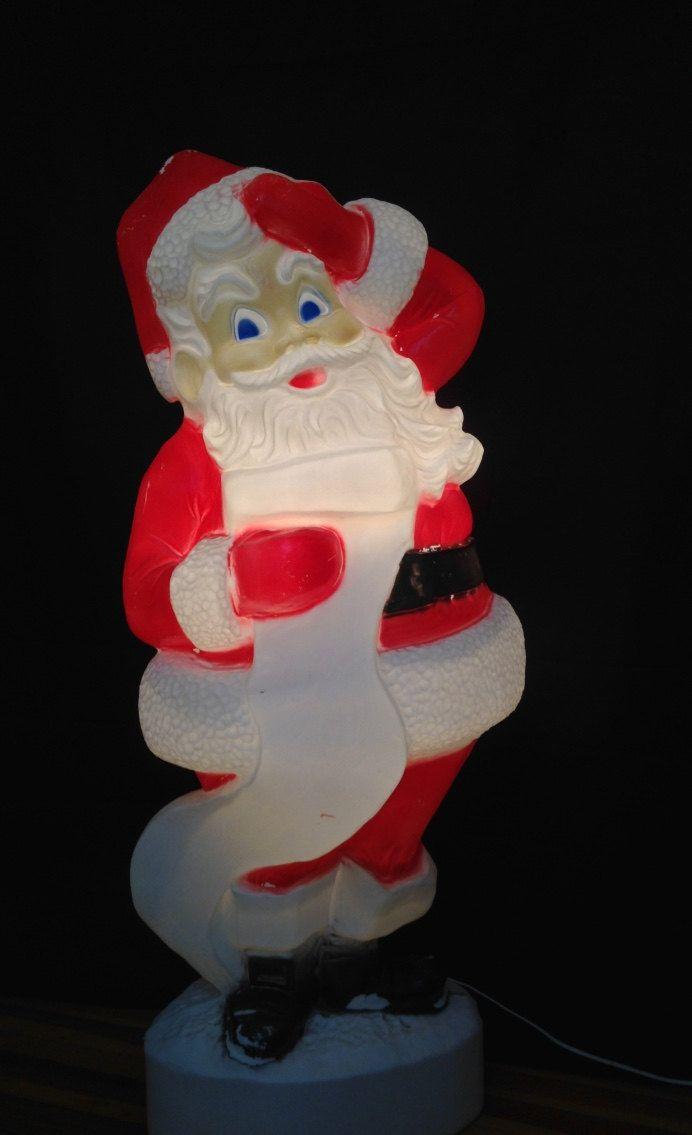 Vintage Santa Claus Outdoor Decorations