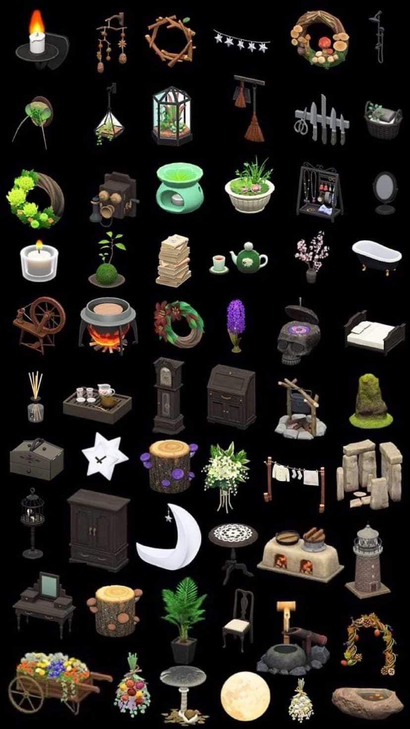 Animal Crossing Furniture List