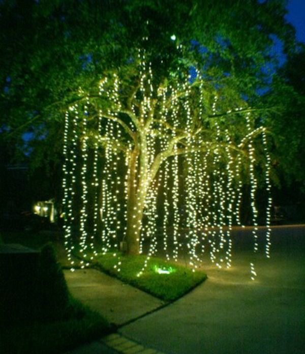 Outdoor Decorative Trees With Lights