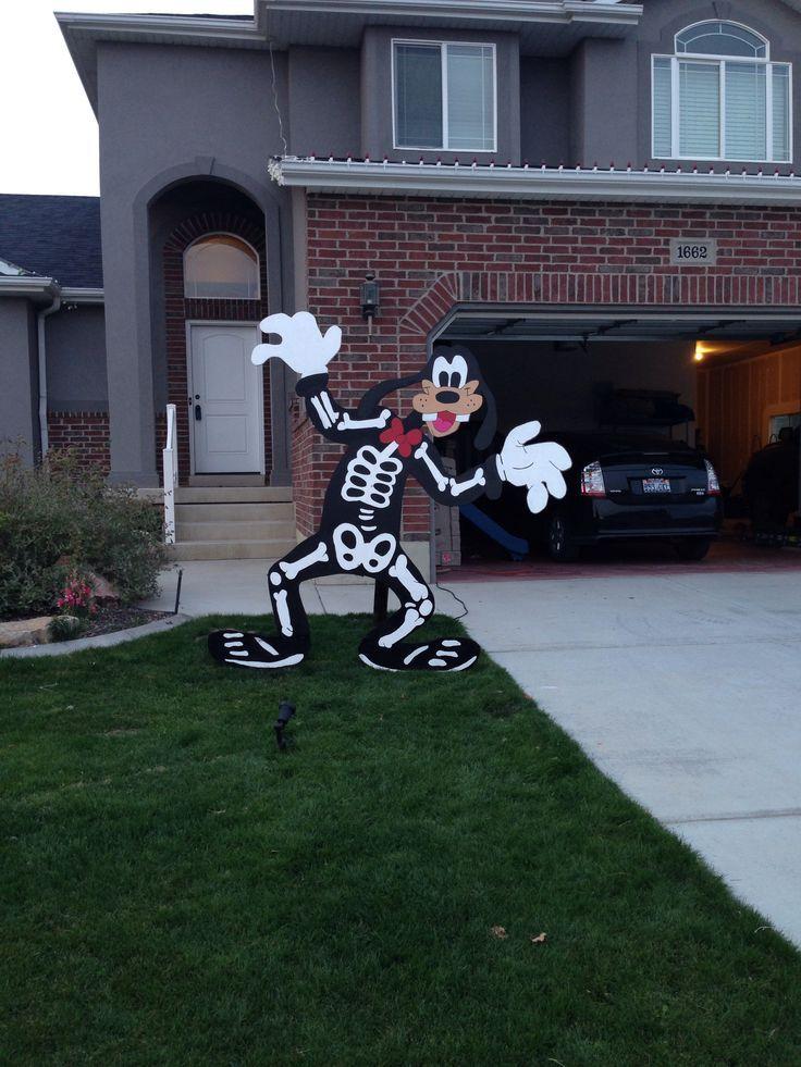 Disney Halloween Outdoor Decorations