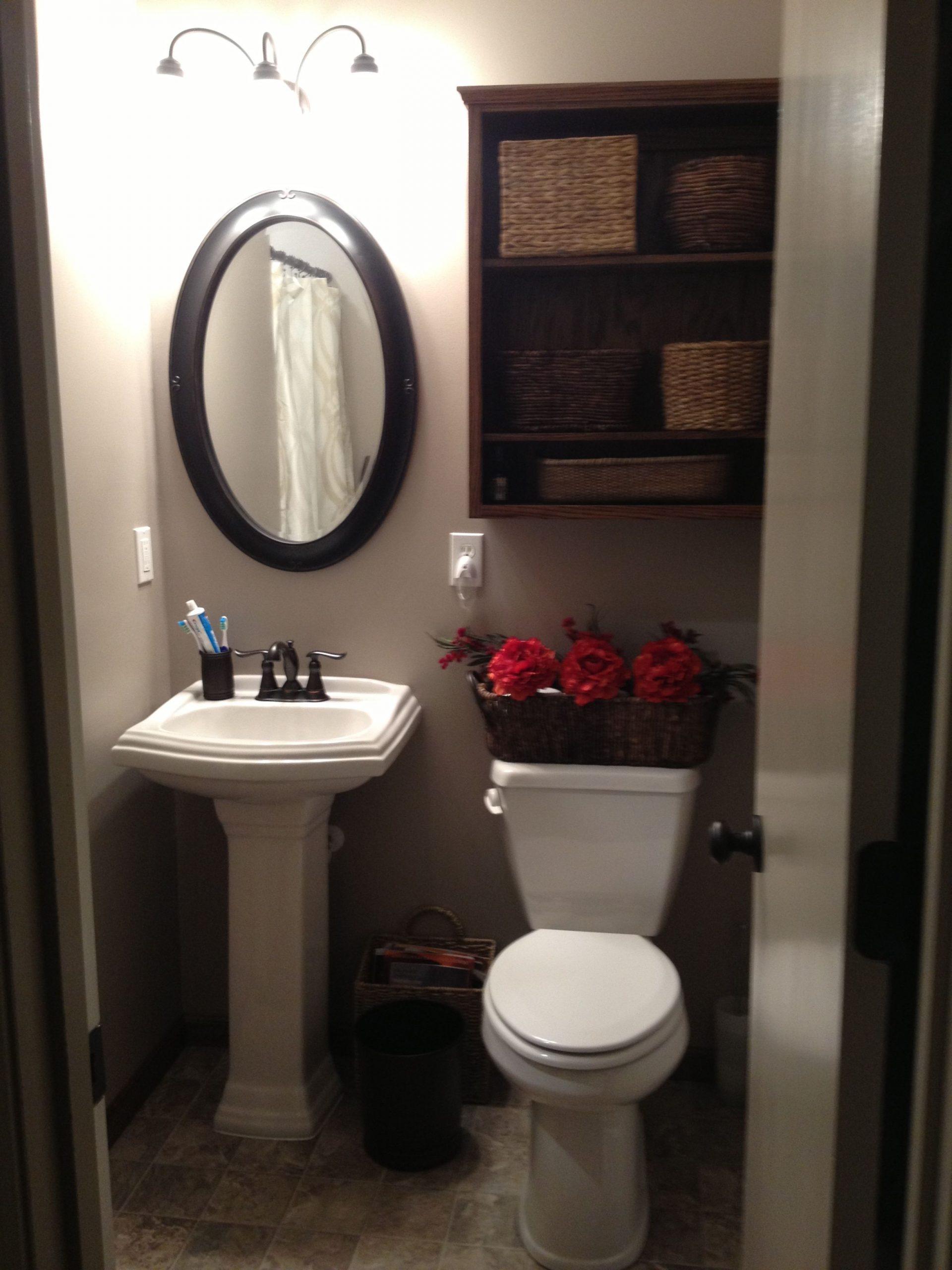 Small Bathroom Pedestal Sink