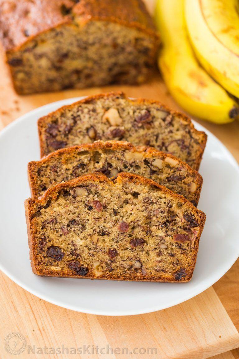 Natashas Kitchen Banana Bread