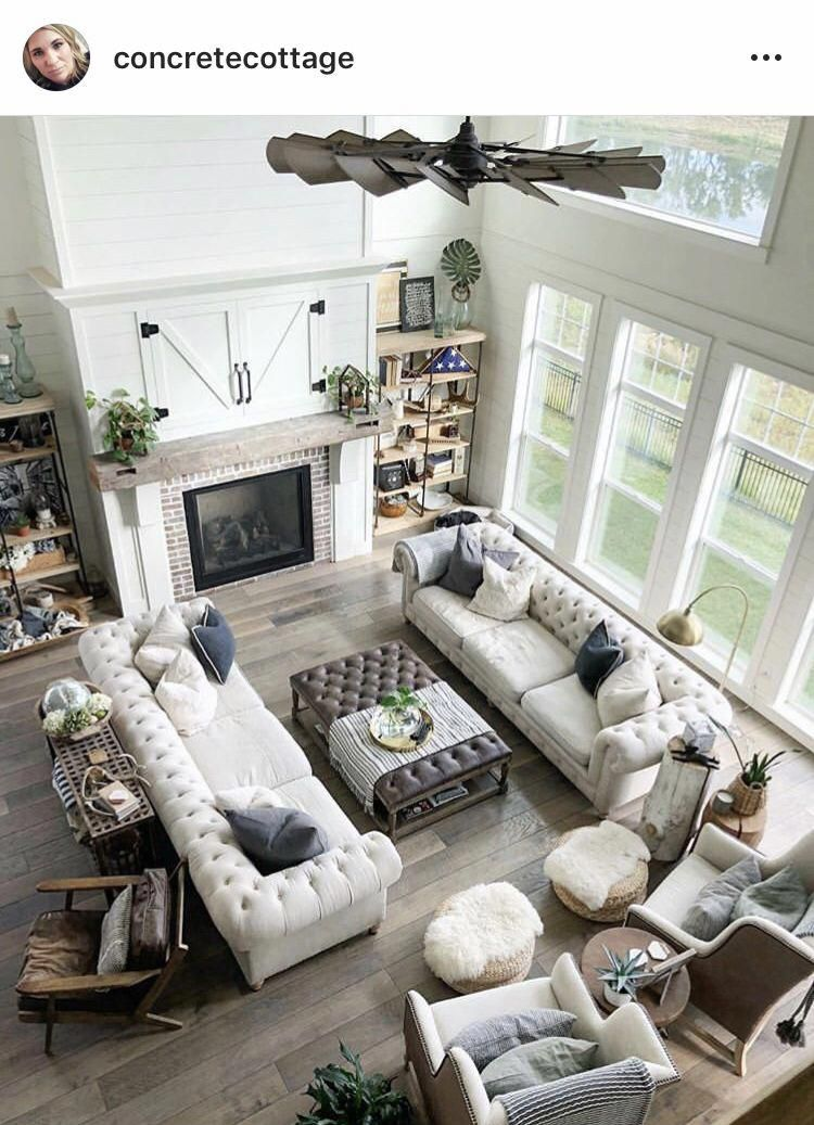 Two Couches In Living Room