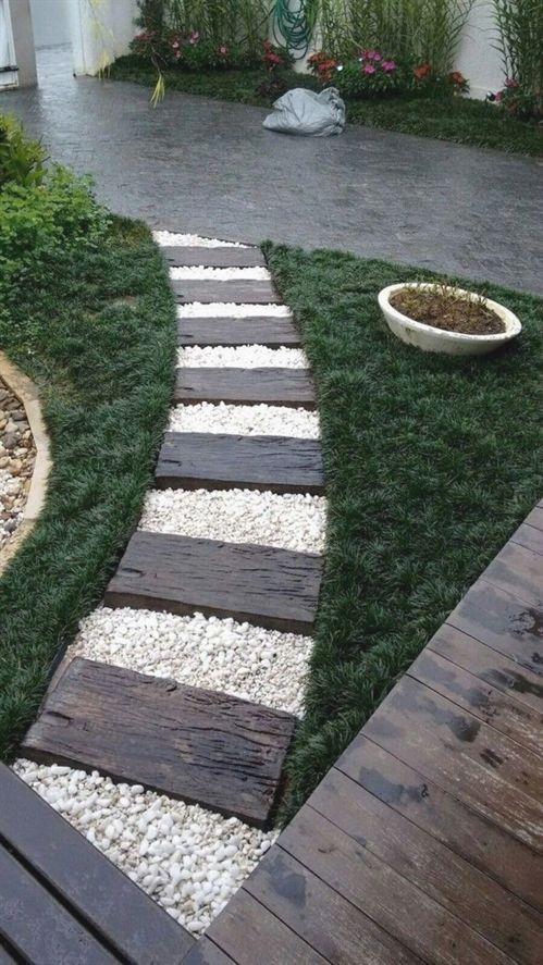 Inexpensive Front Yard Walkway Ideas
