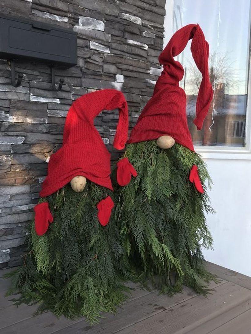 Christmas Gnome Outdoor Decor