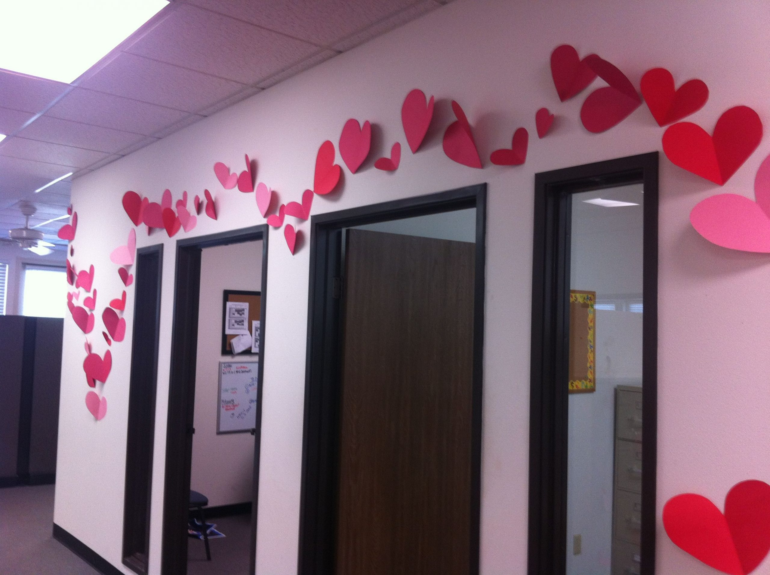 Office Valentines Day Decorations