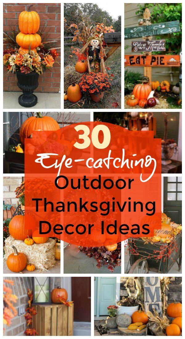 Thanksgiving Outdoor Decoration Ideas