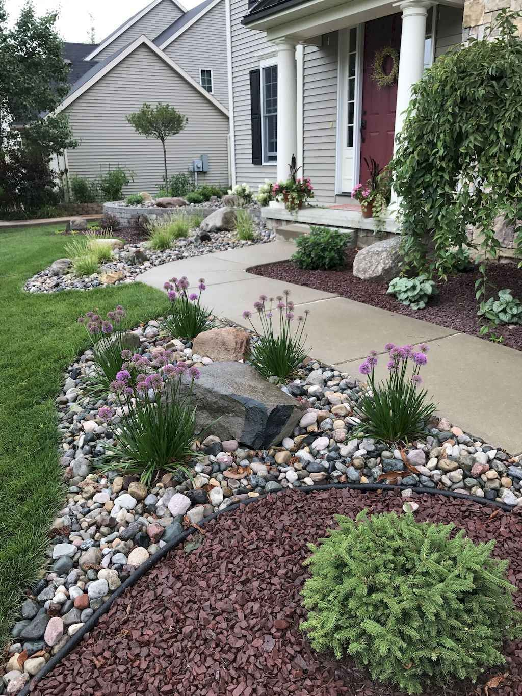 Front Yard Ideas With Rocks