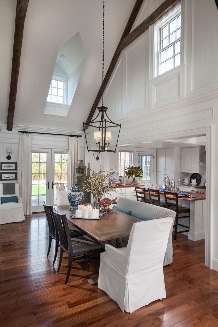 Cape Cod Style House Interior