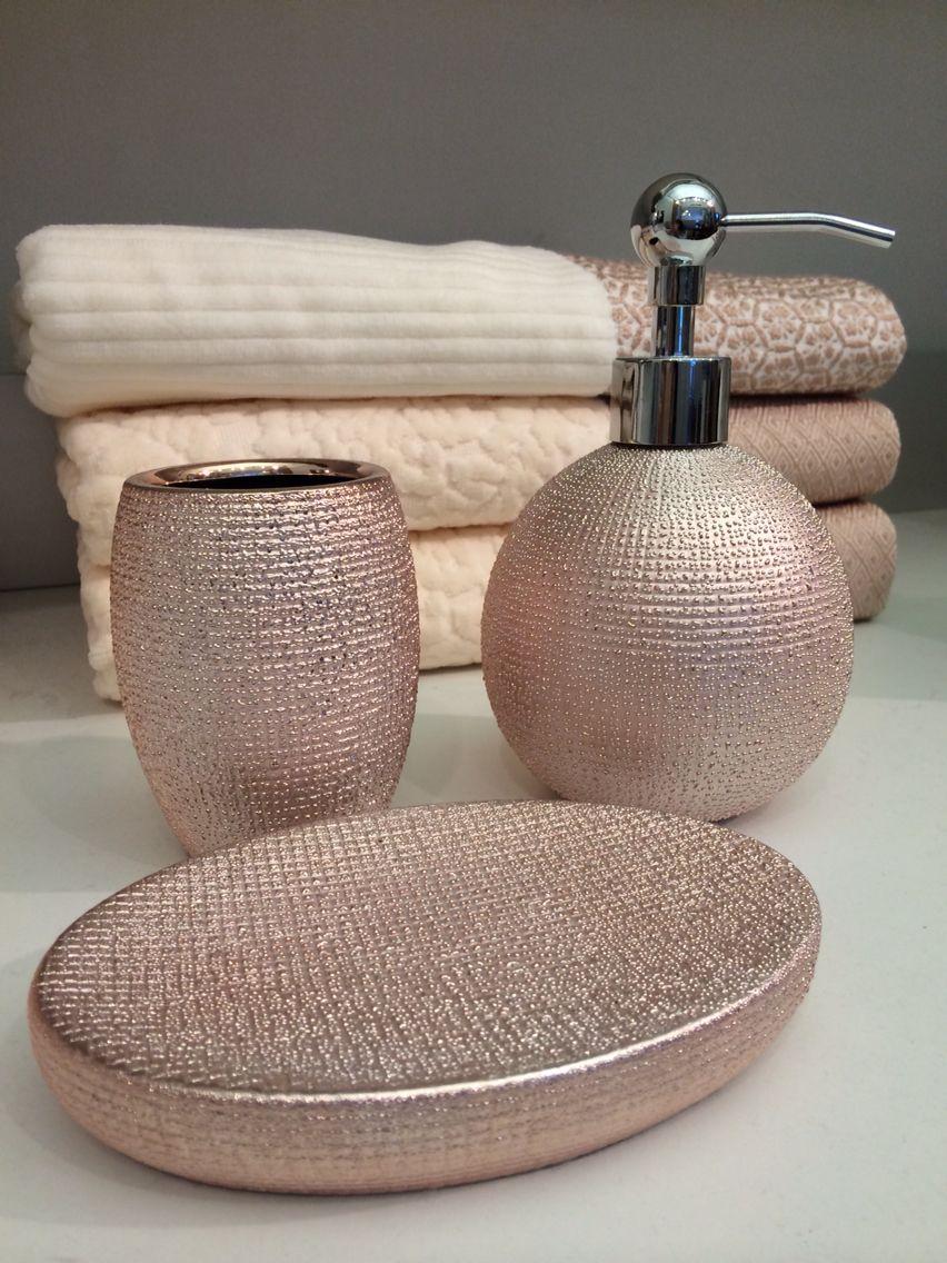 Rose Gold Bathroom Accessories
