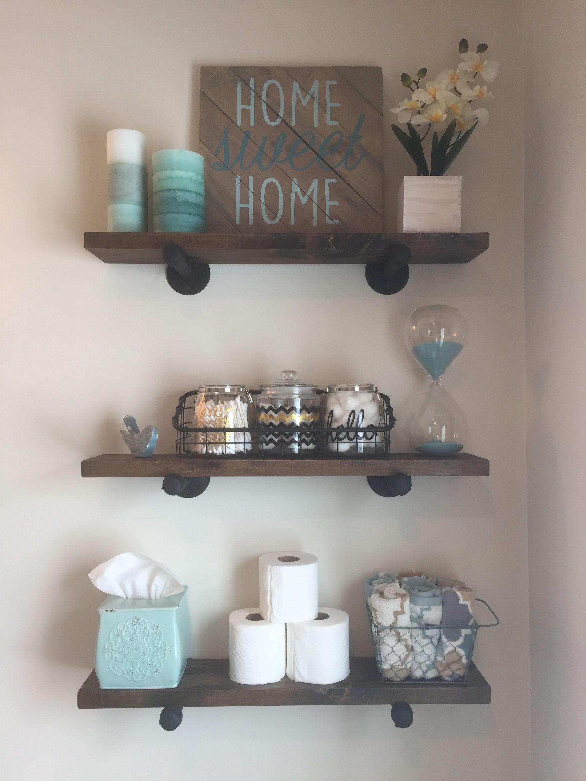 Bathroom Shelf Decor Ideas