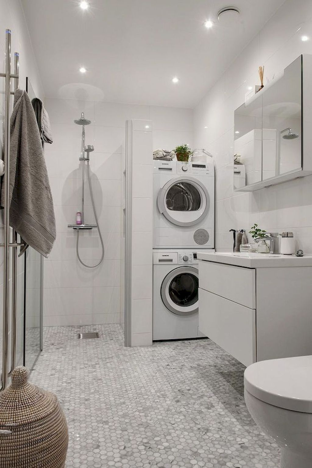 Bathroom Laundry Room Combo