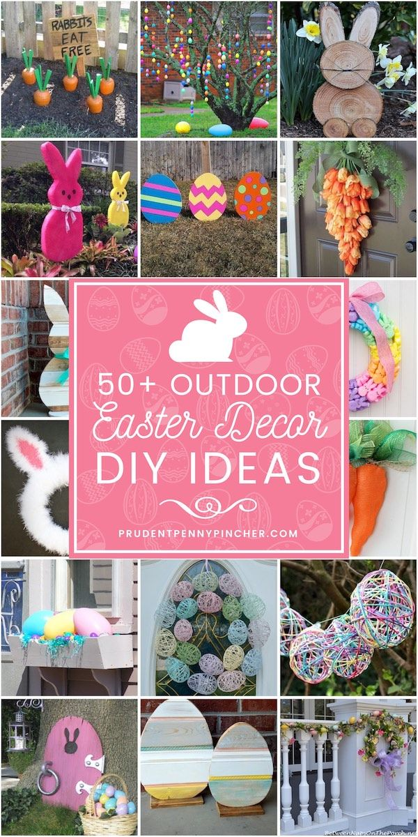DIY Outdoor Easter Decorations