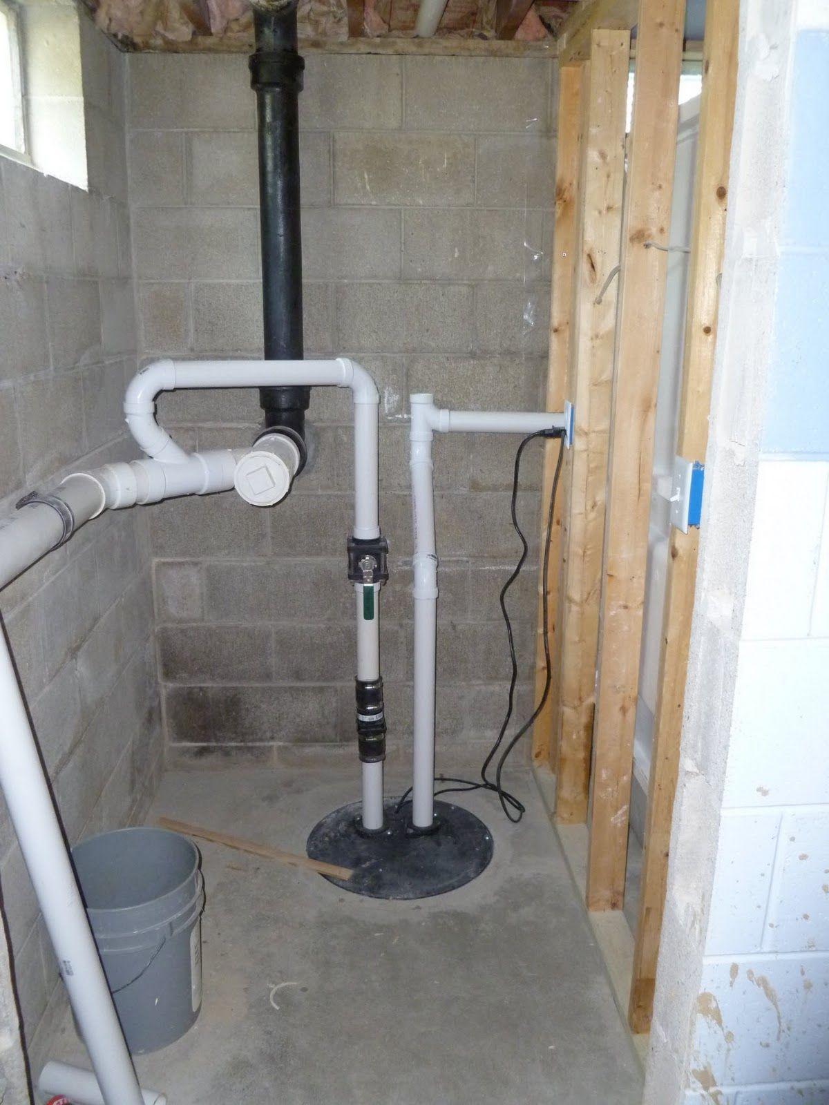 Basement Bathroom Pump