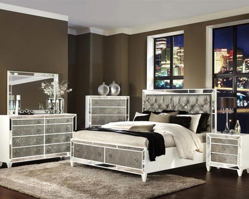 Glass Bedroom Set