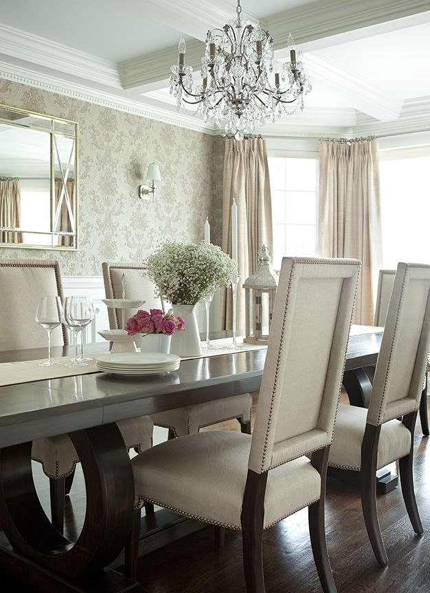 Glam Dining Room Sets