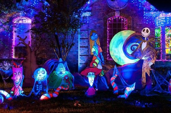 Nightmare Before Christmas Outdoor Decorations