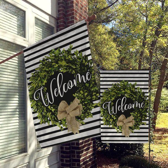 Large Outdoor Decorative Flags