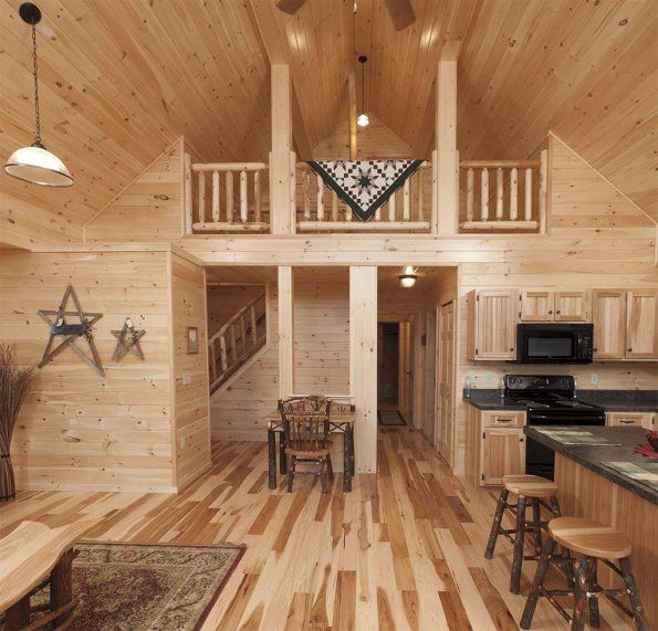 Finished Shed House Interior